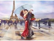 Новинки алмазной вышивки Поцелуй в городе любви