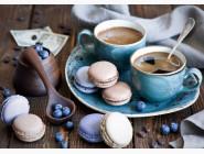Новинки алмазной вышивки Ароматный кофе с десертом
