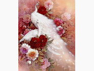 Новинки алмазной вышивки Белоснежные павлины
