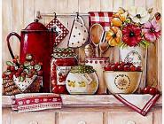 Новинки алмазной вышивки Кухонный натюрморт