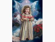 Новинки алмазной вышивки Ангел хранитель с небес