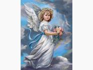 Новинки алмазной вышивки Молитва ангелочка