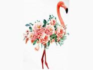 Новинки алмазной вышивки Розовый фламинго