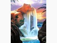 Новинки алмазной вышивки Царица водопада