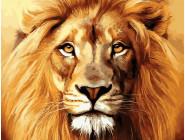 Новинки алмазной вышивки Лев - король зверей
