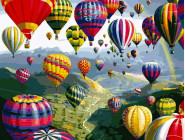 Новинки алмазной вышивки Полёт на воздушном шаре