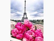 Новинки алмазной вышивки Алмазная живопись My Art Путешествие во Францию (TN959, На подрамнике)