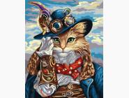 Новинки алмазной вышивки Кот в шляпе