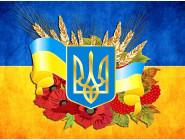 Новинки алмазной вышивки Украина в моем сердце