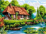 Домик у пруда
