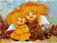 Ангелы и дети Братик с сестренкой