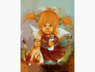 Ангелы и дети Молоко для подлизы