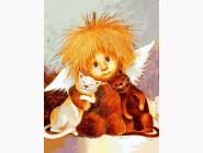 Ангелы и дети Объятия кошек