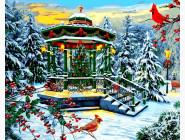 Новый год  Рождественская беседка. Доминик Дэвисон