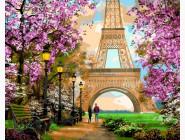 Городской пейзаж Прогулка по Парижу