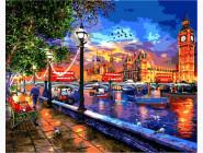 Городской пейзаж Жизнь в Лондоне. Доминик Дэвисон