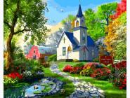 Городской пейзаж Маленькая Белая Церковь. Доминик Дэвисон