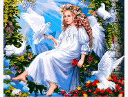 Ангелы и дети Ангел и голуби