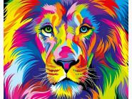 Животные и рыбки Радужный лев
