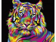 Животные и рыбки Радужный тигр