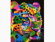 Животные и рыбки Радужный гепард