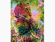 Животные и рыбки Разноцветный гепард
