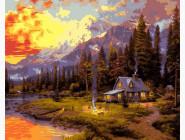 Пейзаж и природа Отдых в лесном домике