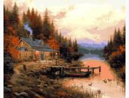 Пейзаж и природа Домик для отдыха