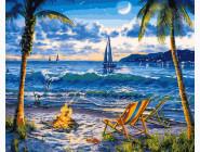 Море, морской пейзаж, корабли Райский пляж