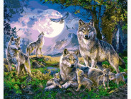 Животные и рыбки Стая волков