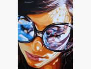 Портреты, люди на картинах по номерам В лучах теплого солнца