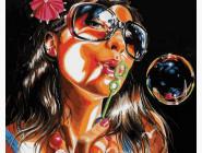 Портреты, люди на картинах по номерам Летние развлечения