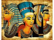 Портреты, люди на картинах по номерам Символы Египта