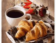 Картины по номерам для кухни Аппетитный завтрак
