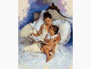 Ангелы и дети Читая сказки на ночь