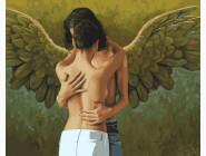 Романтика, любовь Поцелуй ангела