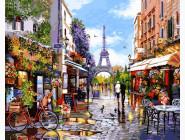 Городской пейзаж Цветущий Париж