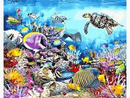 Море, морской пейзаж, корабли Кораловие рифы
