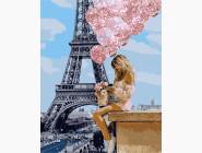 Портреты, люди на картинах по номерам Над Парижем
