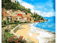Море, морской пейзаж, корабли Город у моря