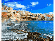 Море, морской пейзаж, корабли Греция