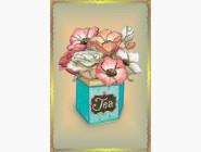 Вышивка бисером Аромат чайных роз