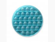 Pop it — антистресс игрушки Pop it антистресс, неон синий круг