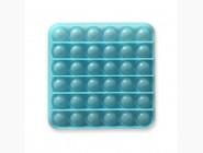 Pop it — антистресс игрушки Поп ит игрушка, неоновый синий квадрат