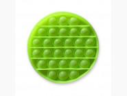 Pop it — антистресс игрушки Антистресс pop it, неон зелёный круг