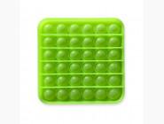 Pop it — антистресс игрушки Pop it антистресс, неоновый зелёный квадрат