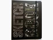 Скетчбуки и дудлбуки Скетчбук Візуальний експрес-курс малювання (чорна палітурка)