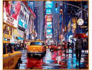 картина по номерам Таймс-сквер. Нью-Йорк