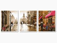 Триптих. Краски вечернего города