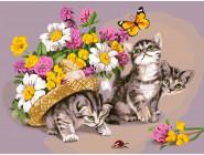 Котики в шляпе